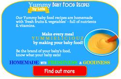 Baby puree recipes