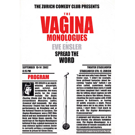 The Vagina Monologues (2nd run by popular demand)