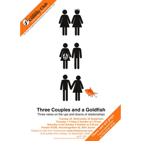 Three Couples and a Goldfish (Henna Night / Abortive / The Extraordinary Revelations of Orca the Goldfish)