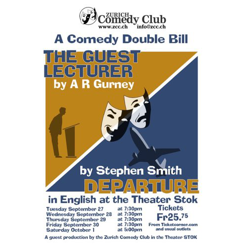 Comedy Double Bill (The Guest Lecturer / Departure)