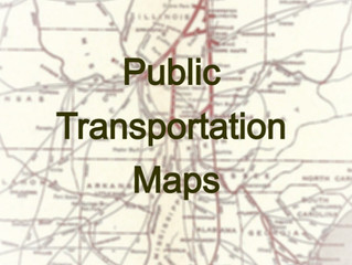 Public Transportation Maps