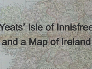 Yeats' Isle of Innisfree and a Map of Ireland