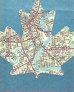 1992 Road Map WINNIPEG Manitoba Canada R