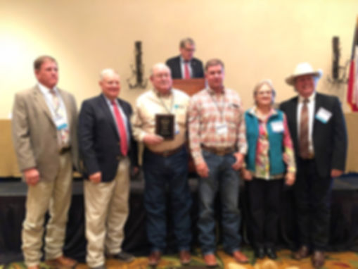 Menard County SWCD was recognized fr 75 years service at the 79th annual meeting of Texas SWCD Directors