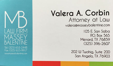 VALERA CORBIN MASSEY BALENTINE LAW FIRM