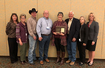 Mary Kniffen of Menard, TX was the 2018 Texas Conservation Teacher of the Year