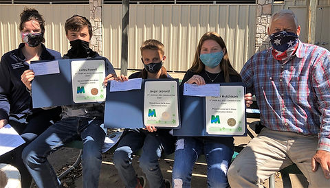 Overall winners in the 2021 Conservation Essay Contest