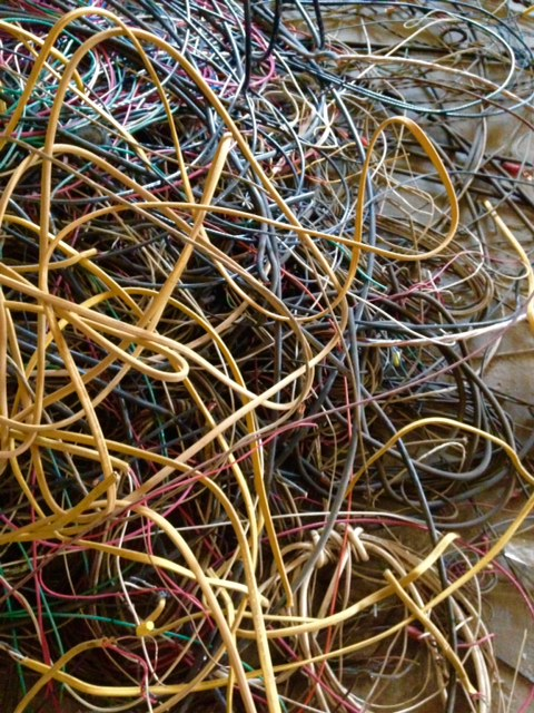 Tons and tons of wire