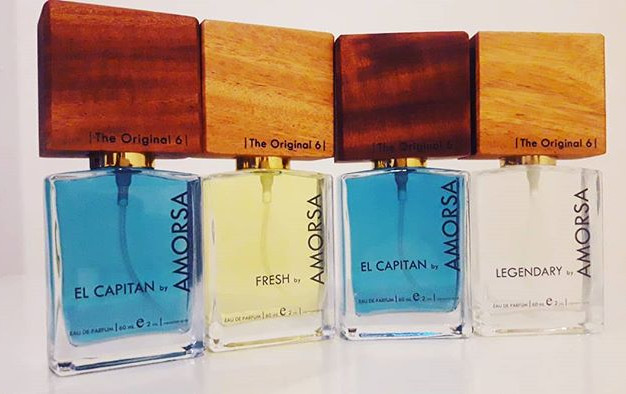 Our male fragrance line-up by AMORSA.__O