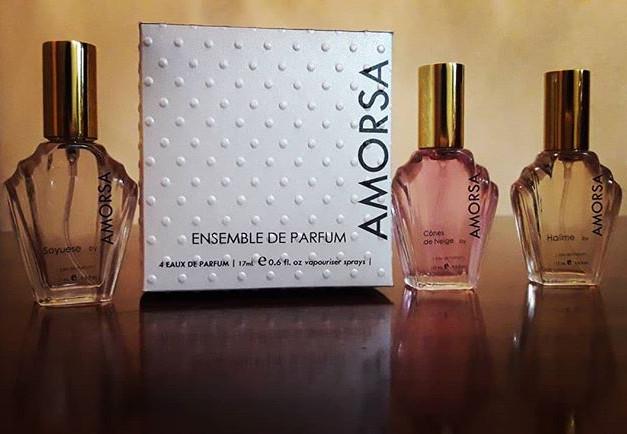 AMORSA Ensemble de Parfum gift pack.jpe