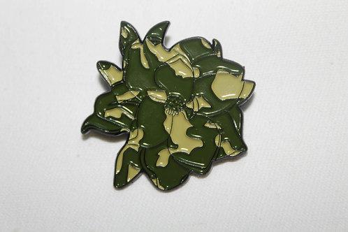 Magnolia Enamel Lapel Pin