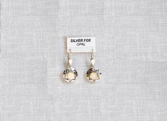 See-Thru Series Opal Sterling Silver Gemstone Earrings