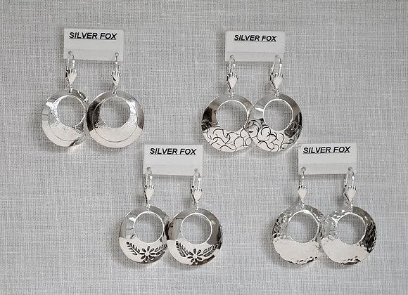 Small Dome Hoop Earrings
