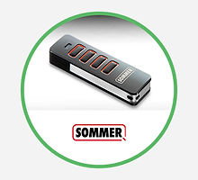 Sommer Doco Garage Door Handsets, Clickers and Control Panels