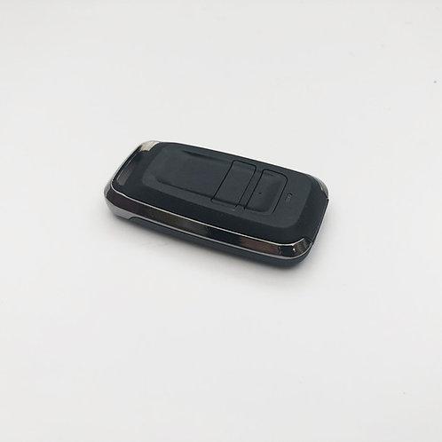 Front view of a Eurodrive Qualprem2 Roller shutter Garage Door Handset (868MHz)