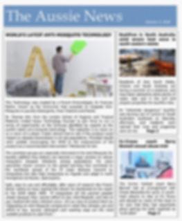 THE AUSSIE NEWS kyzox world's latest anti-mosquito technology