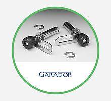 Garador Garage Door Roller Spindles