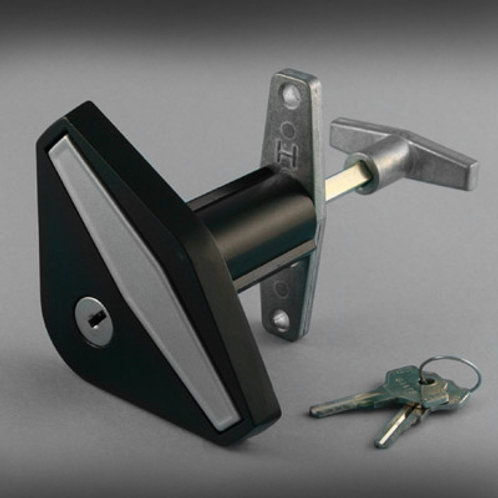 Haskins and Starfleet Anti-vandal Garage Door Flush Lock