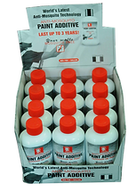 kyzox launch anti-mosquito paint additive in retail packaging