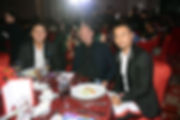 john estrada  derek ramsay dr francois martin at Kyzox grand launching at Solaire hotel