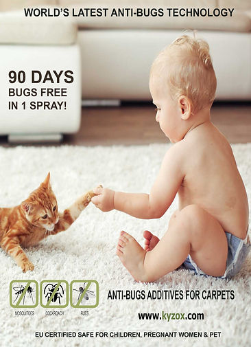 KYZOX ANTI BUGS for CARPETS BAB