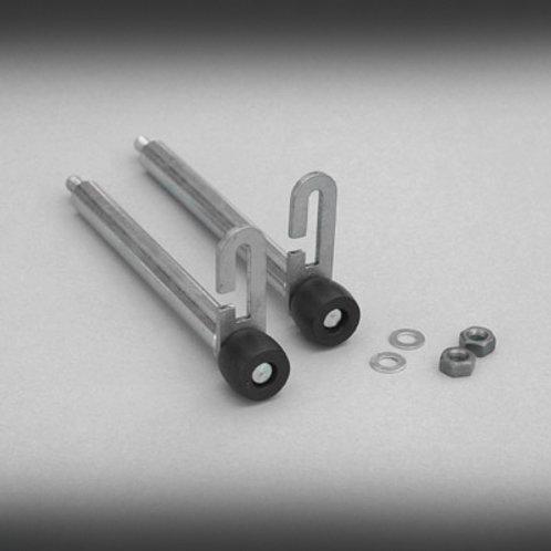"""Garador S/S 4 3/4"""" Pattern Roller Spindles (120mm)"""