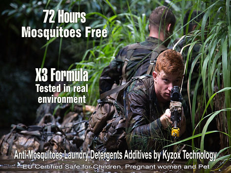 kyzox laundry tested in real environment