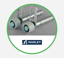 Marley Garage Door Roller Spindles