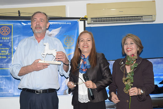 from jungle to the stage Dr Francois Martin Rotary Award for outstanding anti-dengue campaign