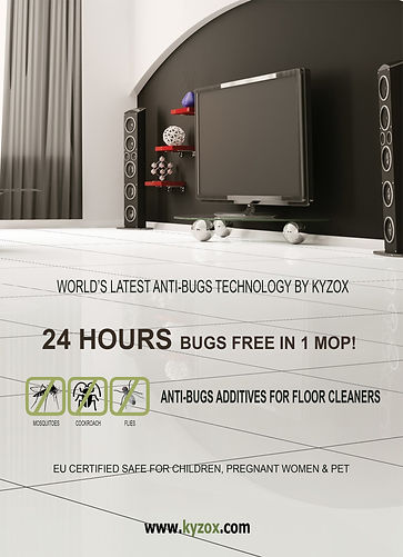 KYZOX ANTI BUGS for FLOOR CLEAN