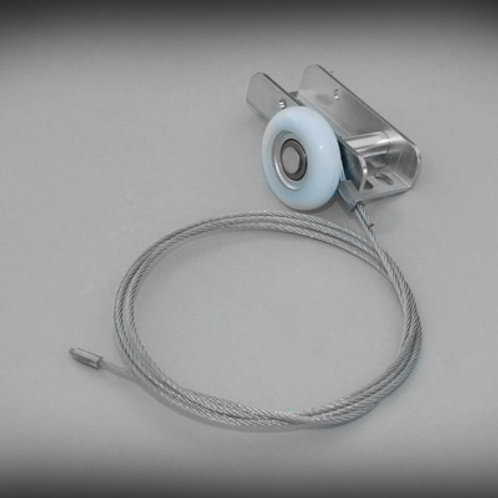 Hormann Canopy Garage Door Roller and Cable Assembly - With Bearing (Pattern)