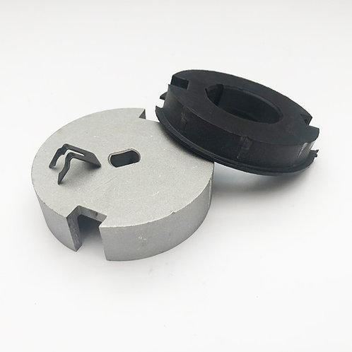 """Eurodrive SWS 4"""" Roller Garage Door Adaptor Plate"""