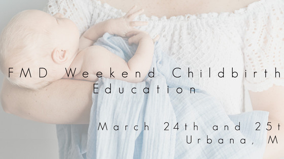 Our March Childbirth Weekend Class is Here! Three Reasons You Should Join