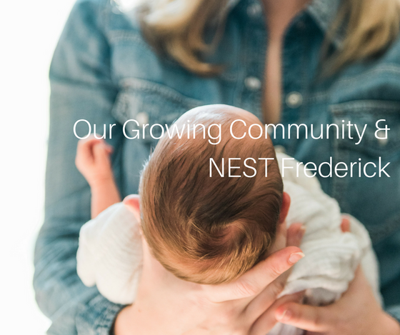 Our Growing Community & NEST Frederick