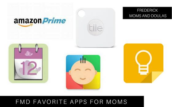 Friday Favorites: Apps for Moms