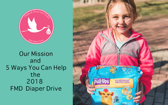Our Mission and Five Ways You Can Help with Our Diaper Drive