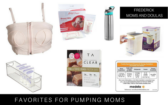 Our Favorite Things for Pumping