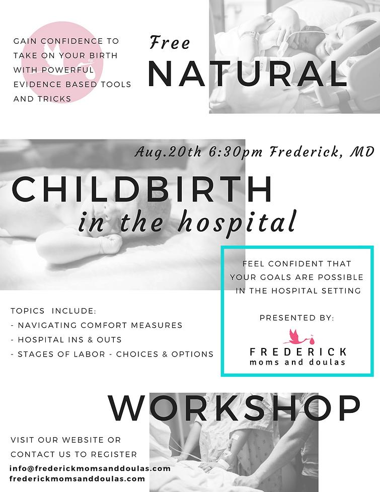 Natural Childbirth Workshop Flyer.png