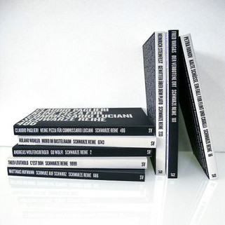 Buchcover Schwarze Reihe
