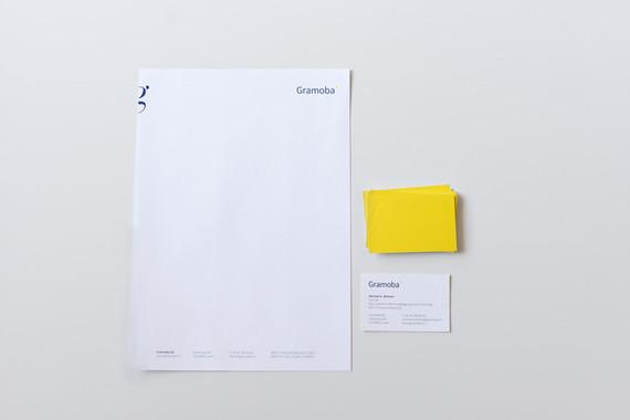 Gestaltung Briefschaften