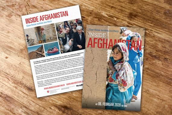 Flyer «Inside Afghanistan»