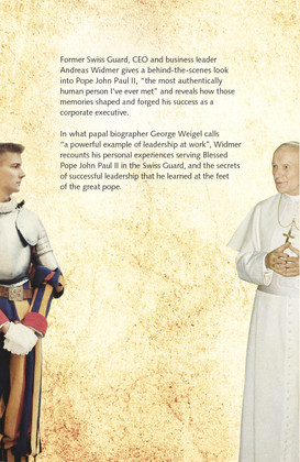 Coverdesign «The Pope and the CEO»