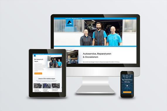 Webdesign und Umsetzung