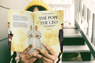 Buchcover für «The Pope & the CEO»