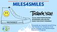Miles4Smiles Success! By, Liv Craine