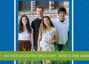 Mother-Daughter Volunteer Spotlight: Reneta and Jasmine Jenik