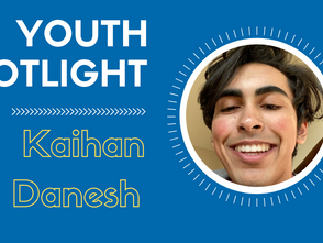 Youth Spotlight - Kaihan Danesh
