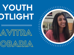Youth Spotlight - Pavitra Dobaria