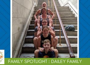 Family Volunteer Spotlight - The Dailey Family