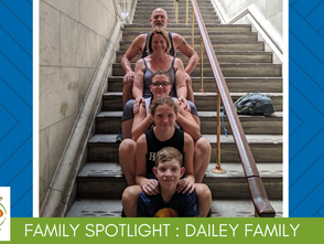 Family Volunteer Spotlight - The Dailey Family